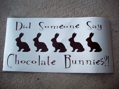 chocolate bunny vinyl